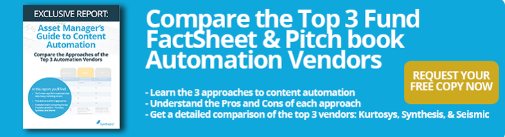 Top 3 factsheet and pitch book vendors comparison