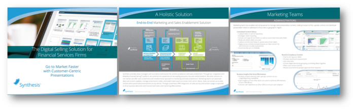 Sales Presentation Automation for Investment Companies